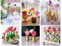 Simple Summer Flowers: Single Bud Vases