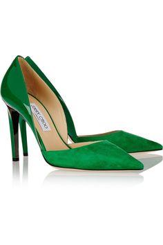 Emerald Jimmy Choo pumps, swoon