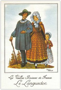 Costume Français, France National, French Costume, Couple Painting, Dress Illustration, Silhouette, Les Miserables, Vintage Love, Traditional Outfits