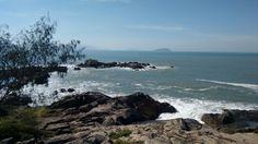 Praia da Armação em Florianópolis, SC