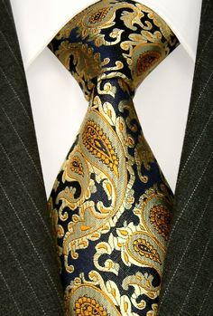 Silk Paisley Necktie - The Tres Chic