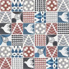 Trouble choosing one pattern for your wall or floor