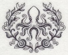 Octopus and Seaweed Laurel