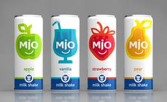 MIO Milk Shakes on Packaging of the World - Creative Package Design Gallery