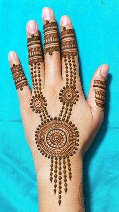 Henna Art Designs, Simple Mehndi Designs, Hand Designs, Hand Henna, Hand Tattoos, Design Art, Beautiful, Style, Swag