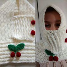 Crochet capucha, bufanda y Capita