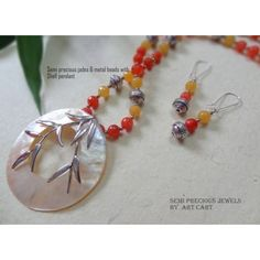 Semi  precious morning dew - Online Shopping for Jewellery Sets by Art cart