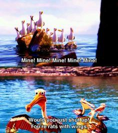 Finding Nemo, one of my favorite movies. Disney Pixar, Walt Disney, Disney Memes, Disney Quotes, Disney And Dreamworks, Disney Animation, Disney Magic, Disney Characters, Disney Dream