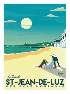 © Marcel Saint-Jean-de-Luz LA BAIE www.marcel-biarritz.com