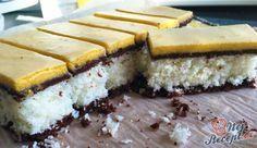 Sbírka 23 nejlepších kokosových zákusků, ze lkterých si určitě vyberete ten nejlepší | NejRecept.cz Hungarian Cake, Hungarian Recipes, Dream Recipe, Love Cake, Trifle, Fudge, Sweet Recipes, Cheesecake, Food And Drink