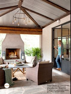 Outdoor living space (better homes & gardens)