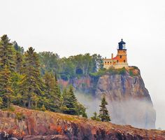 Split Rock Lighthouse. Minnesota
