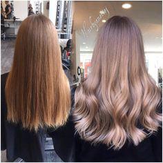 "Anette J. på Instagram: ""My last photo of #hairstylisappreciationday #virginhair #babylights #wella #wellahair #wellalife #olaplex #btcpics"""
