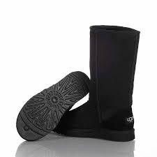Tall black classic Uggs.  Can be other brand as long as it's the thick rubber sole with tread. Sz 10