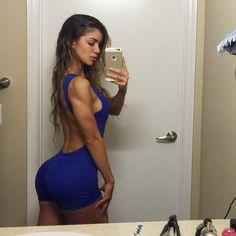 "Anllela Sagra® on Instagram: ""All blue ERRRTHING  #gymlook . Olympia mode Errdayyyyy  . Vamos ps con todaaaa #Olympia2015  . ."""