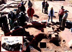 Exploração robotica realizada em 2006 em Tiahuanaco na Bolívia - arquivo de pesquisa urandir 2011  http://portalpesquisa.com/misterios/pesquisadores-detectam-piramide-soterrada-em-tiahuanaco.html