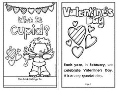 """""""Who Is Cupid?""""  {A Student Reader Celebrating the Legend of the Holiday's Most Famous Mascot... Cupid.}  Each finished booklet has 10 student pages, including sight words to trace and underlined vocabulary to learn.  ($)  #cupid  #valentinesday"""