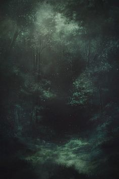 Dark Green Aesthetic, Nature Aesthetic, Aesthetic Colors, Aesthetic Pictures, Mystical Forest, Slytherin Aesthetic, Matte Painting, Fantasy Landscape, Dark Landscape