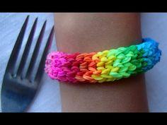 Браслеты из радужек rainbow loom