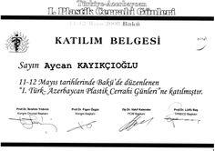 Türk Azerbaycan Plastik Cerrahi Günleri 2008