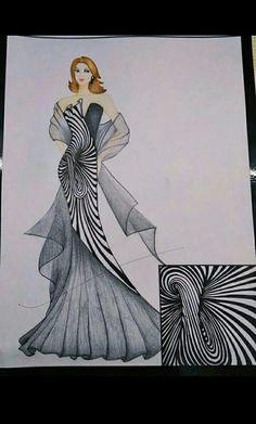 Dress Design Drawing, Dress Design Sketches, Fashion Design Sketchbook, Fashion Design Drawings, Fashion Illustration Tutorial, Fashion Illustration Collage, Fashion Illustration Dresses, Fashion Model Sketch, Fashion Sketches