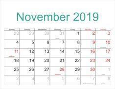 telugu calender 2019 november