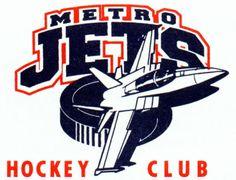 1989, Metro Jets (Waterford, Michigan) Lakeland Ice Arena Div East #MetroJets #WaterfordMichigan #NA3HL (L7416)