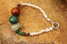 earthy pearl bracelet @ Branching Fig