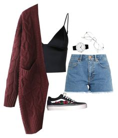 """""""Untitled #4"""" by eunoia-mc on Polyvore featuring T By Alexander Wang, M.i.h Jeans, Rosendahl and WithChic"""