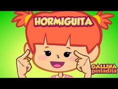 Gallina Pintadita 2 - Hormiguita (Español Latino) Canciones Infantiles - YouTube