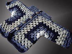 Sacos tejidos en base a 2 hexágonos. Luego se pueden tejer el cuello, las vistas, los puños y darle las terminaciones que queramos. Se puede...