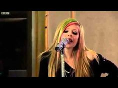 Avril Lavigne - What The Hell live at BBC Radio - Roxie's Theme Song! Another good break-up song.