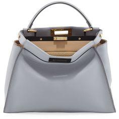 3aba897109f7 Fendi Peekaboo Medium Bicolor Tote Bag ( 4