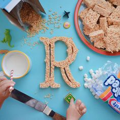 1 | Designer Dad Teaches His 2-Year-Old Daughter About Typography With Edible ABCs | Co.Design | business + design