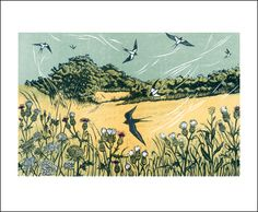 'Bayfield Swallows' by Niki Bowers (A611) (NEW)