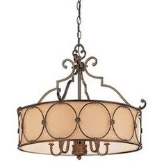 Minka Lavery 4236-288 5 Light Chandelier