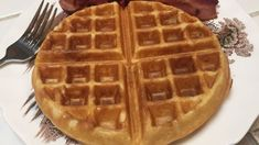 Rich Buttermilk Waffles Recipe Genius Kitchen (HKL notes: great go to recipe - increased sugar to 1 tbsp) Waffle Recipes, Brunch Recipes, Breakfast Recipes, Snack Recipes, Snacks, Breakfast Ideas, Breakfast Dishes, Bread Recipes, Best Waffle Recipe