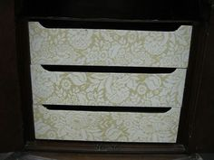 how to use lace with wood icing textura paste, chalk paint, how to, painted furniture, Using lace on drawer fronts