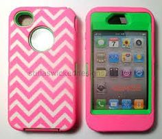 chevron print otter boxes for iphone4 - Google Search