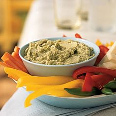 Edamame Dip - Quick and Easy Side-Dish Recipes - Cooking Light
