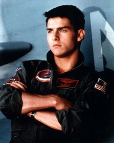 OK maybe I watched Top Gun to see Tom Cruise too he was pretty cute back then!