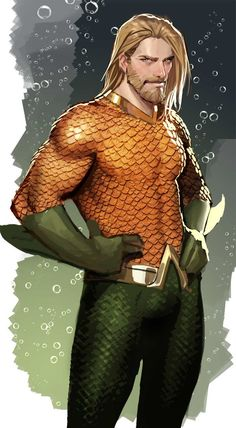 """Stjepan Sejic will join DC Comics' """"Aquaman"""" as the new regular artist in June with an extra-sized issue. Marvel Dc Comics, Heros Comics, Hq Marvel, Dc Comics Characters, Dc Comics Art, Fun Comics, Dc Heroes, Aquaman Comics, Book Characters"""