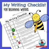 Writing Checklist - First and Second Grade