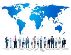 Free image by rawpixel.com Global Business, Business Women, Travel Agent Career, Crowd Images, Earth World Map, Connection Network, Job Employment, Green Business, Digital Media