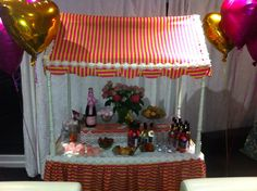 Candy Cart! Can be used for adult parties, children's parties and weddings! A great idea for party fun!