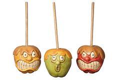 Such cute decorations!  Asst. of 3 Candy Apple Gang on OneKingsLane.com