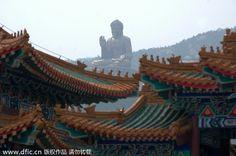 Nanshan in Shandong's Longkou.
