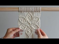 DIY Macrame Tutorial: Large 6 Petal Flower Using Double Half Hitch and Square Knots!- DIY Macrame Tutorial: Large 6 Petal Flower Using Double Half Hitch and Square Knots! DIY Macrame Tutorial: Large 6 Petal Flower Using Double… - Macrame Design, Macrame Art, Macrame Projects, Macrame Wall Hanging Patterns, Macrame Plant Hangers, Free Macrame Patterns, Flower Patterns, Knitting Patterns, Macrame Curtain