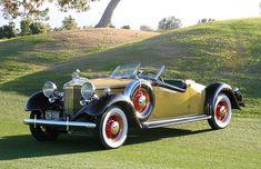 1932 Hupmobile Cabriolet Roadster 5