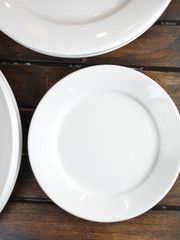 """The heft is unmistakeable, the shapes are classic. Often described as """"retro"""", restaurant china with its simple lines and warm white c..."""